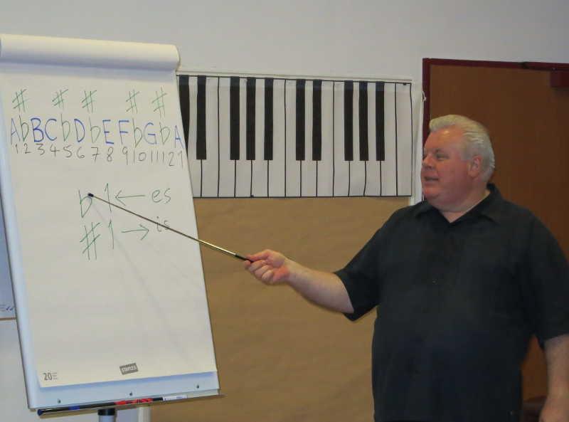 Seminar Noten Lesen und Spielen mit Duncan Lorien