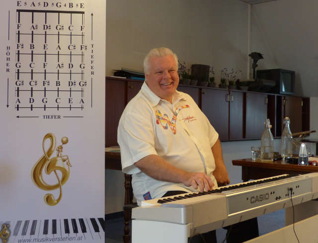 Duncan Lorien im Musik-Verstehen-Seminar