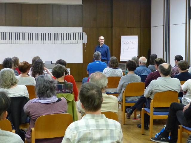 Duncan Lorien erklärt Bühnenpräsenz und Bühnenmanieren und Auftreten
