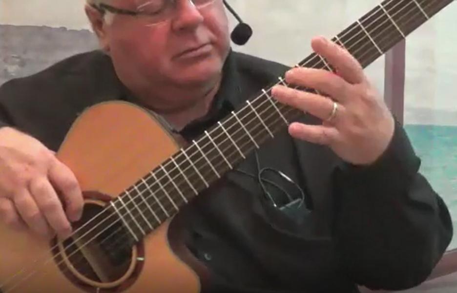 Duncan Lorien erklärt die Gitarre
